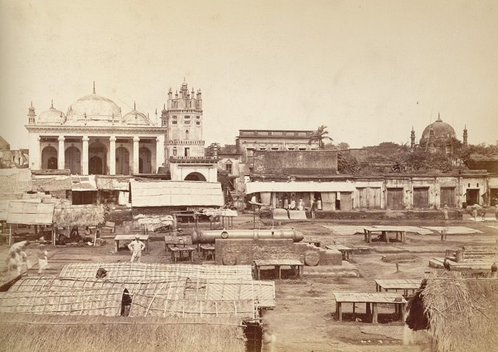 The 'Chowk' or market place of Dacca